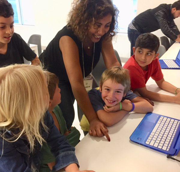 Volunteering as Mentors for Kids Learning Code